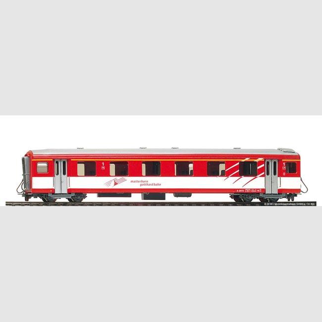 Bemo H0m 3280116 Art Carro panoramico aperto RhB B 2096